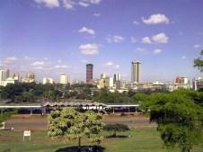 Veduta di Nairobi, Kenya