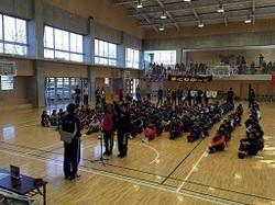 高柳西小学校男女キャプテンによる選手宣誓.jpg