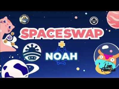 第314回【朗報】ノアプロジェクト新たなDeFiのSPACESWAPとパートナーシップ締結へ!カフェラテ思わず本音がポロリ、、、