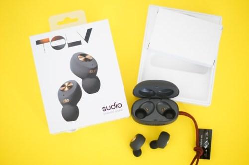 sudio完全ワイヤレスイヤホンTOLVの口コミと使い方リモートワークにおすすめ?