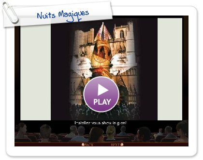 Click to play this Smilebox slideshow: Nuits Magiques