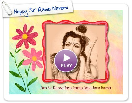 Click to play this Smilebox slideshow: Happy Sri Rama Navami