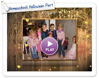 Click to play Homeschool Halloween Party