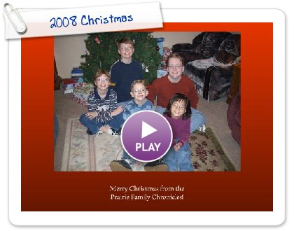 Click to play 2008 Christmas