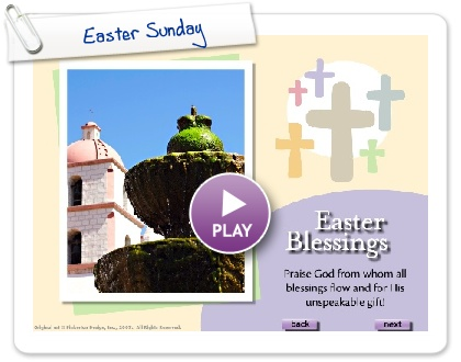 Click to play this Smilebox slideshow: Easter Sunday