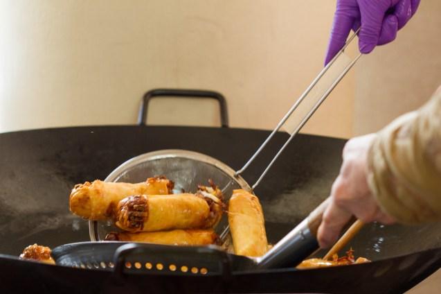 fresh fried rolls
