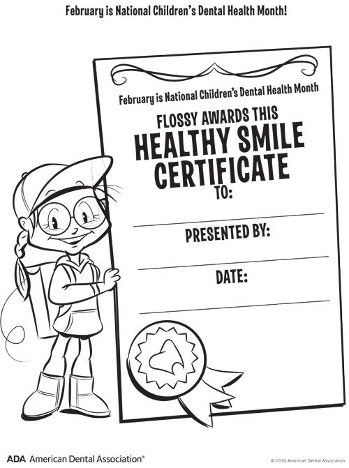 Healthy Smiles : Children's Dental Health Awareness Month