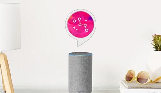Amazon Alexaで、こんな元気になれるサービスもあった。