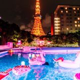 次のツーリングはナイトプール!東京プリンスホテルに動画映えスポット出現