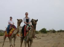 Riding a camel? check!