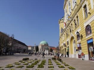 Pretty széchenye square