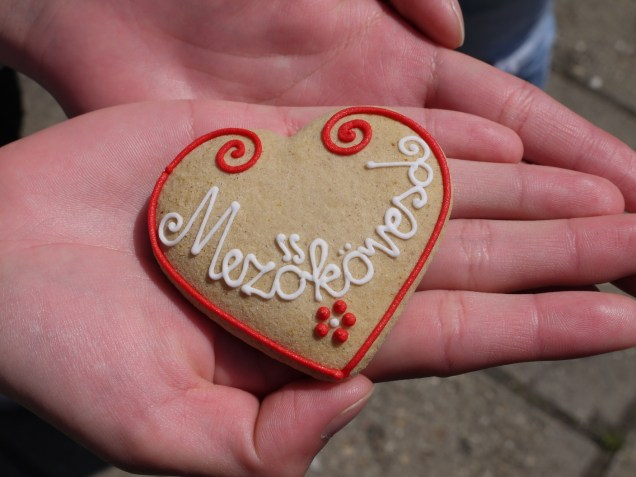 Decorated gingerbread from Mezőkovesd