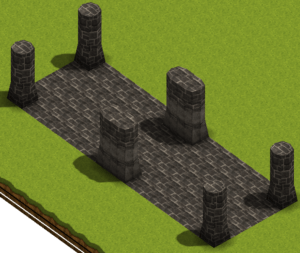 "Smile Game Builder High Quality Assets: ""Old Ruins"" Stone Terrains"