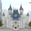 Fantasy Castle – Title Screen (Smile Game Builder)