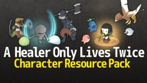 A Healer Only Lives Twice Character Resource Pack