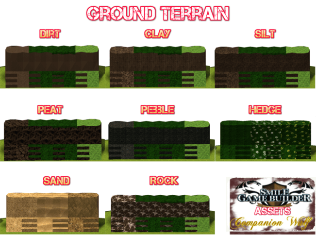 Ground 1 - Hi-Tex Terrain - Smile Game Builder
