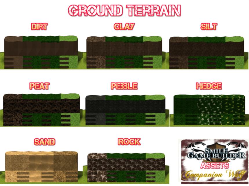 Ground 1 - Hi-Tex Terrain - Smile Game Builder