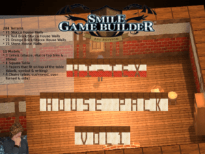 Hi-Tex House Pack Vol. 1 Asset Pack for Smile Game Builder