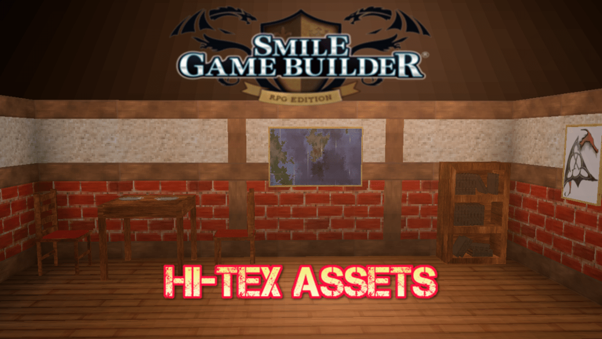 Changes to Smile Game BuilderHi-Tex Packs Content