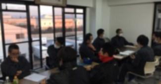 テックビルケア3S活動 業務改善についての話し合い