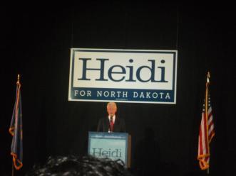 See former President Bill Clinton speak? Check!