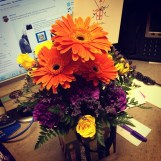 My birthday flowers from my brother! I'm loved!