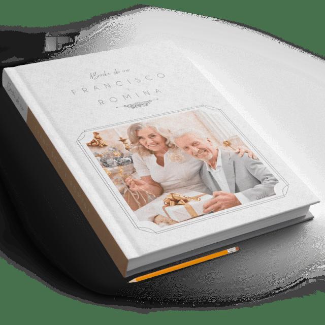 Fotobook 40x30 cm, Pasta en Tela Personalizada | producto PRO