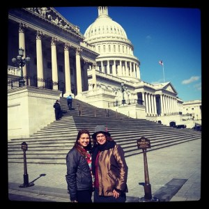 Nikki and Nina on the Hill