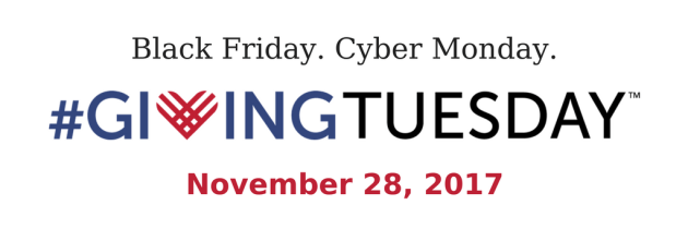 Join us for #GivingTuesday