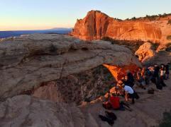 Sunrise at Mesa Arch, Canyonlands NP