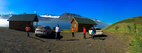 our cottages- Solbrekka Guesthouses in Mjóifjörður located on Eastern Fjords,