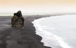 Reynisfjara shore- black sand beach of South Iceland