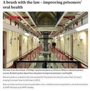 dentistry prison article