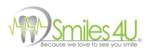 Picture above shows the smiles4u Las Vegas logo