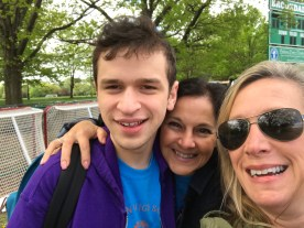 Jack and his two moms!