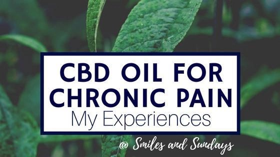 CBD Oil for Chronic Pain: My Experience and Tips