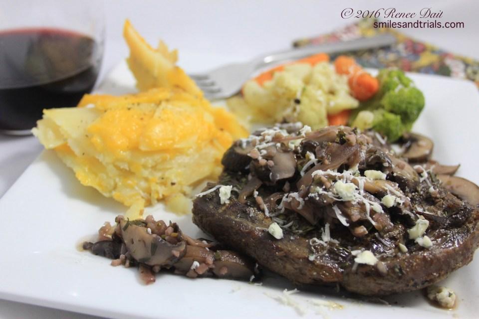 1162 elk steak dinner