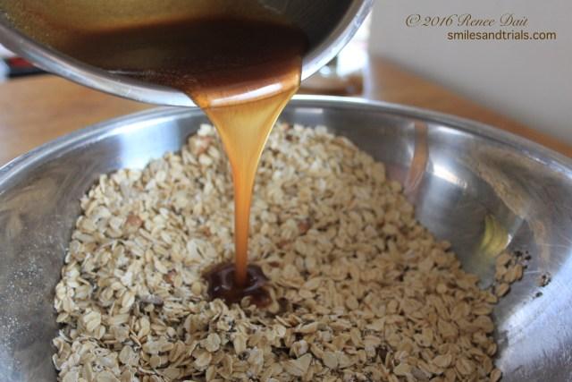 granola sauce mix