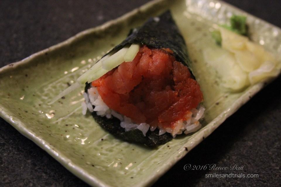 4036 spicy tuna handroll