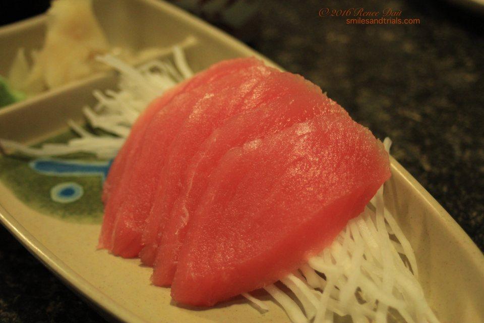 9307 maguro sashimi