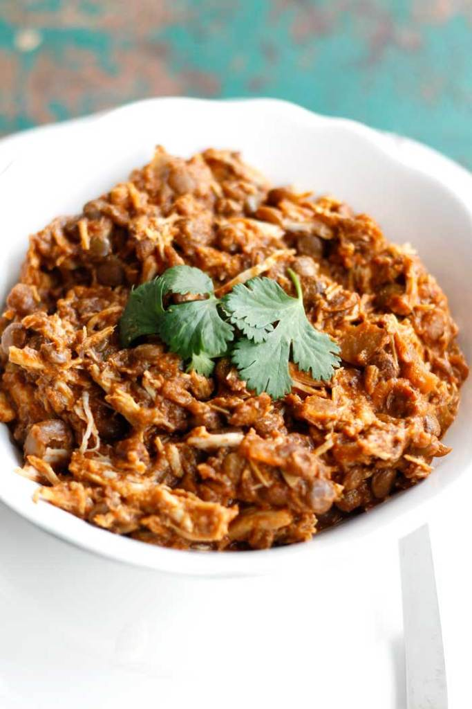 Crockpot-Indian-Chicken-and-Lentils