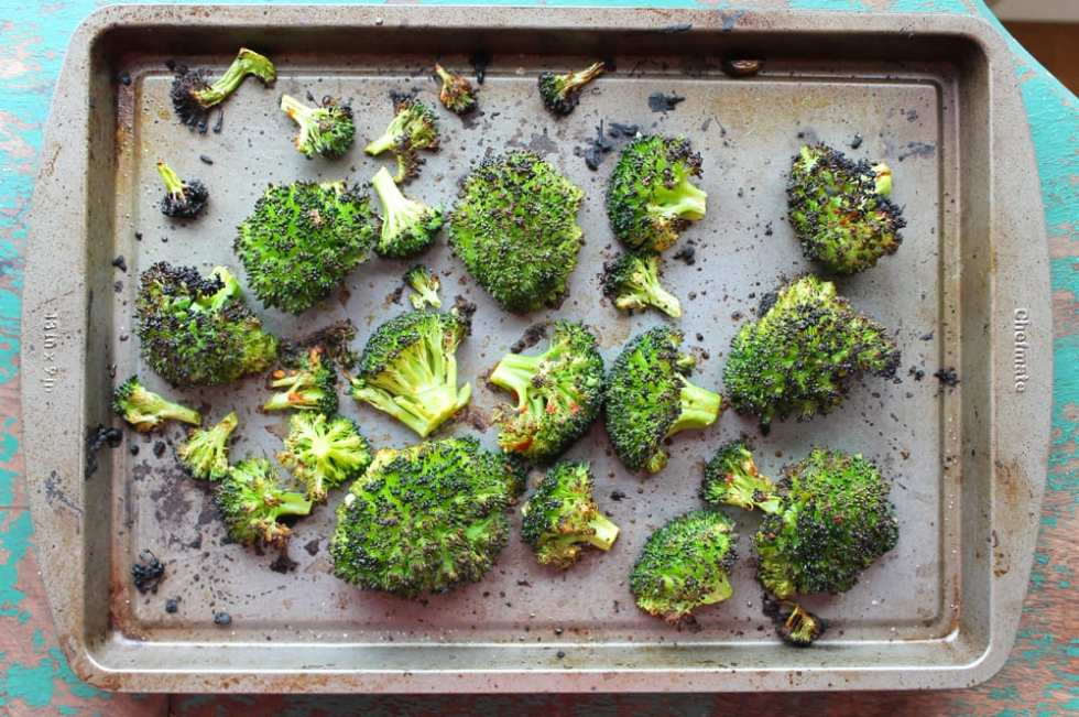 Blasted Broccoli (AKA The Best Broccoli Recipe Ever)