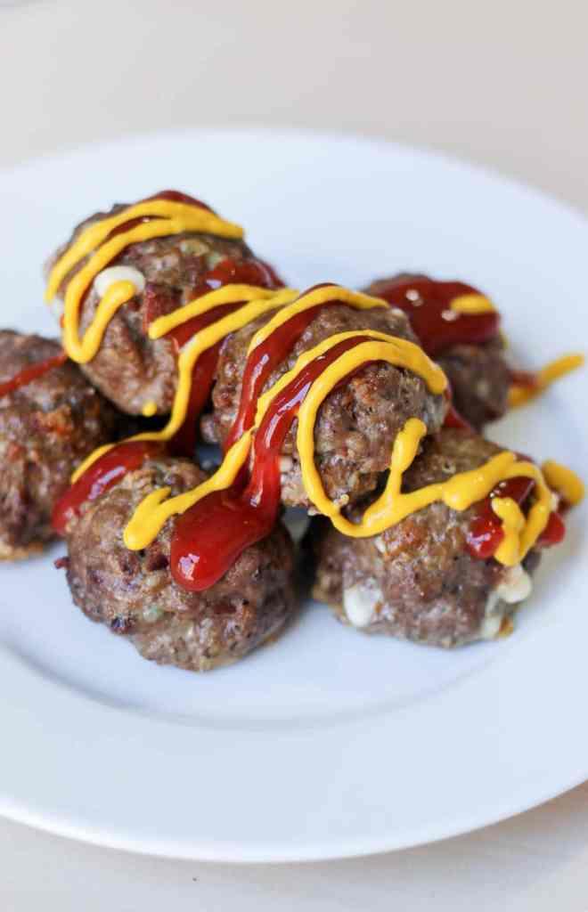 Bacon Blue Cheese Meatballs