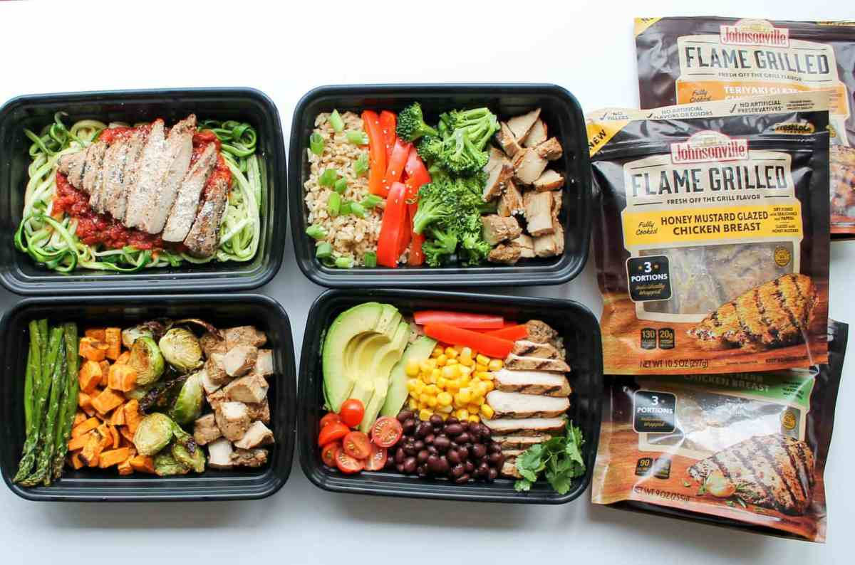 Easy Chicken Meal Prep Bowls: 5 Ways