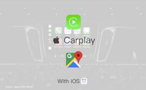 carplay ios12 google maps