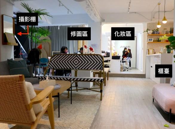 台北5間人氣韓式證件照PK!StyleLab-店內裝潢
