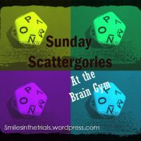 Sunday Scattergories- Around the World