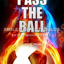 POSTER A4 PASS THE BALL