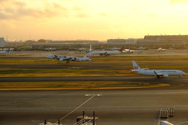 JAL@羽田空港