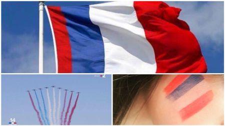 新しいフランス国旗
